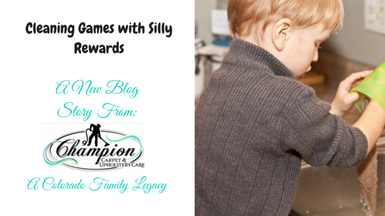 Champion Mom: Cleaning Games with Silly Rewards