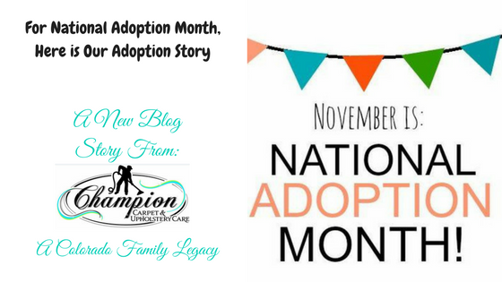 For National Adoption Month, Here is Our Adoption Story