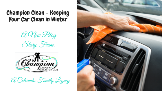 Champion Clean - Keeping Your Car Clean in Winter