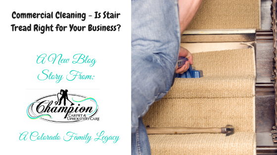 Commercial Cleaning - Is Stair Tread Right for Your Business?