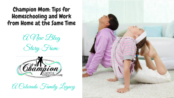 Champion Mom: Keeping Your Kids Moving This Summer