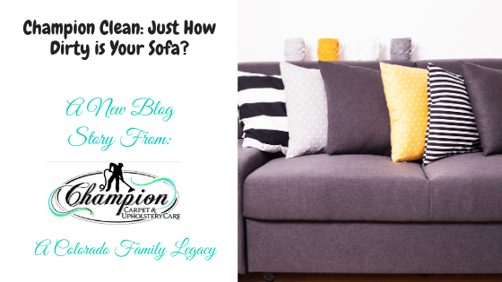 Champion Clean: Just How Dirty is Your Sofa?