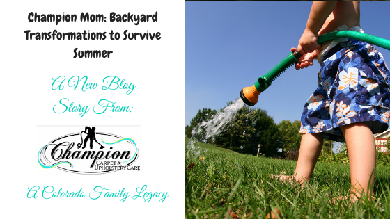 Champion Mom: Backyard Transformations to Survive Summer