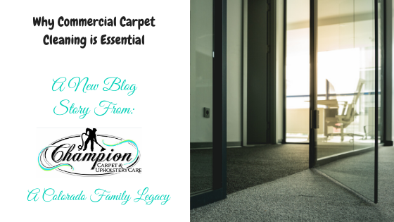 Why Commercial Carpet Cleaning is Essential