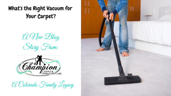 What's the Right Vacuum for Your Carpet?