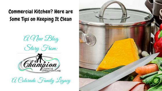 Commercial Kitchen? Here are Some Tips on Keeping It Clean
