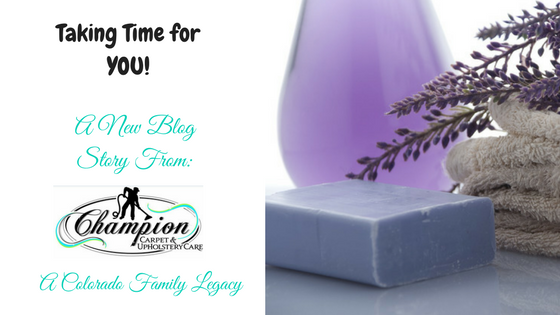 #ChampionMom - Taking Time for YOU