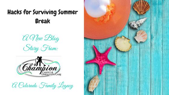 Hacks for Surviving Summer Break