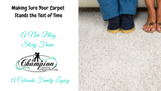 Making Sure Your Carpet Stands the Test of Time
