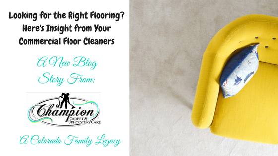 Looking for the Right Flooring? Here's Insight from Your Commercial Floor Cleaners