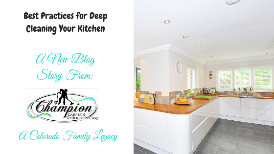 Best Practices for Deep Cleaning Your Kitchen