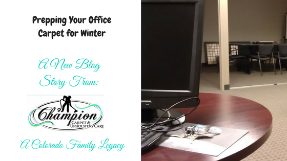 Prepping Your Office Carpeting for Winter