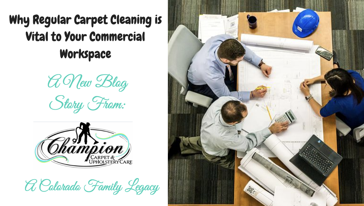 Why Regular Carpet Cleaning is Vital to Your Commercial Workspace