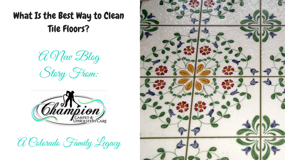 What Is the Best Way to Clean Tile Floors?