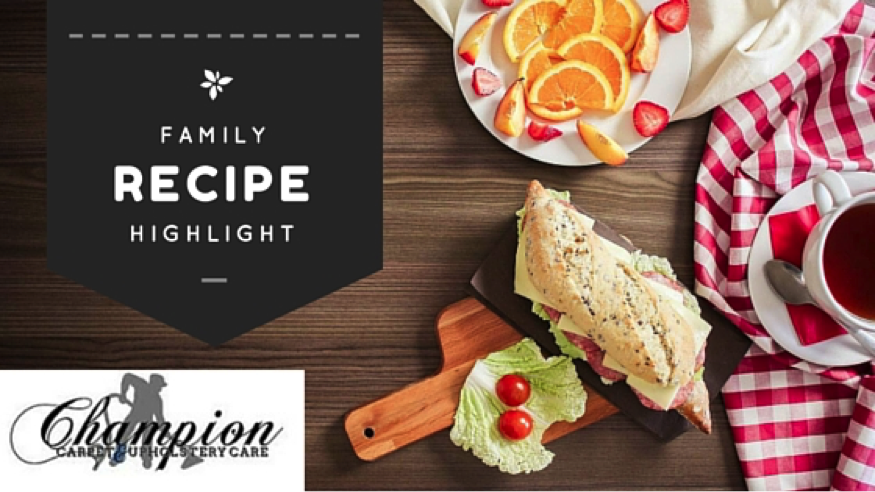 This Month's Family Recipe Highlight: Spring Picnic with Your Pets