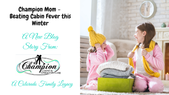 Champion Mom - Beating Cabin Fever this Winter